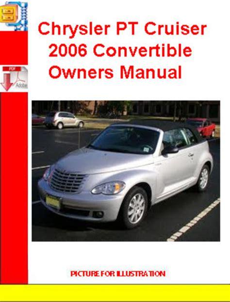 Chrysler Pt Cruiser Owners Manual