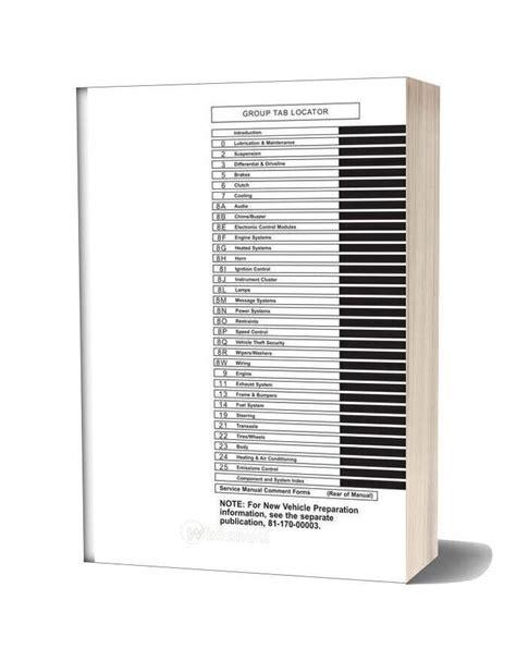 Chrysler Pt Cruiser Service Manual 2002