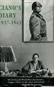 Ciano's Diary: 1937-1943