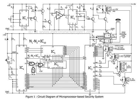 Circuit Diagram Of 8086 Microprocessor