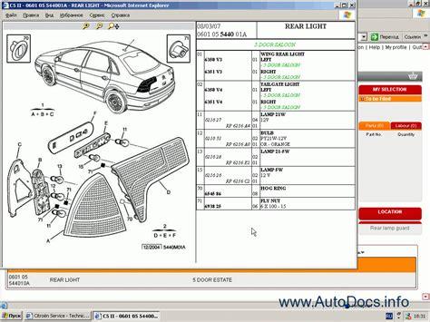Citroen Service Box Workshop Manual