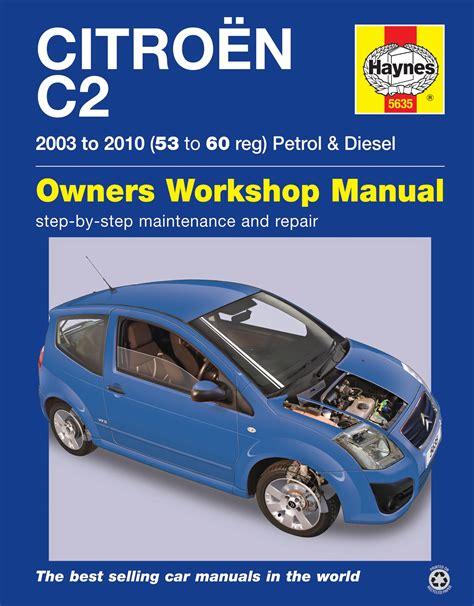 Citroen Workshop Manual C2