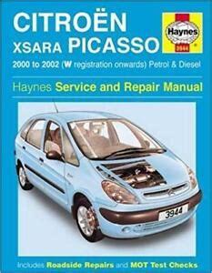 Citroen Xsara Picasso 2015 Owners Manual