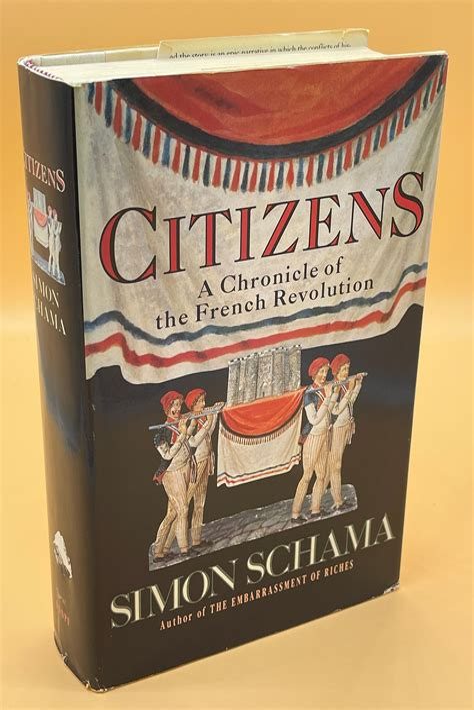Ciudadanos Una Cronica De La Revolucion Francesa