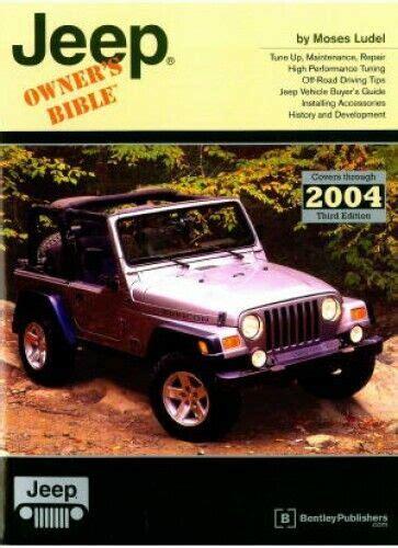 Cj Cherokee Pickup Jeep Owners Bible Gje3