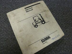 Clark Forklift Manual Gcs17
