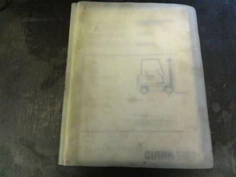 Clark Gpx230e Forklift Manual