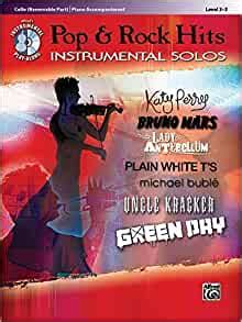 Classic Rock Instrumental Solos Cello Removable Part Piano Accompaniment With Cd Audio Alfred S Instrumental Play Along