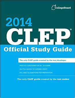 Clep 2014 Study Guide