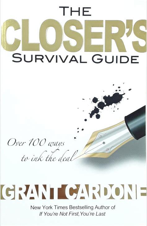 Closers Survival Guide Grant Cardone