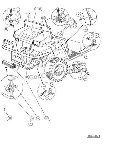 Club Car Carryall 2 Xrt Parts Manual