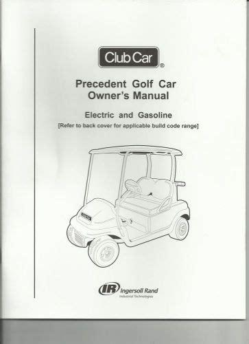 Club Car Owner Manual 1982