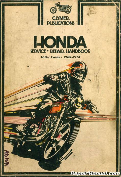 Clymer Honda 450cc Twins 1965 1974 Motorcycle Repair Manual
