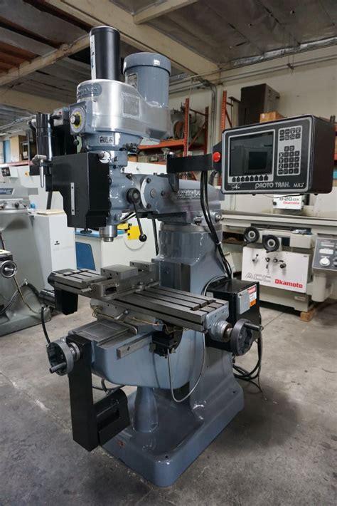 Cnc Mill Proto Trak Mx3 Manual