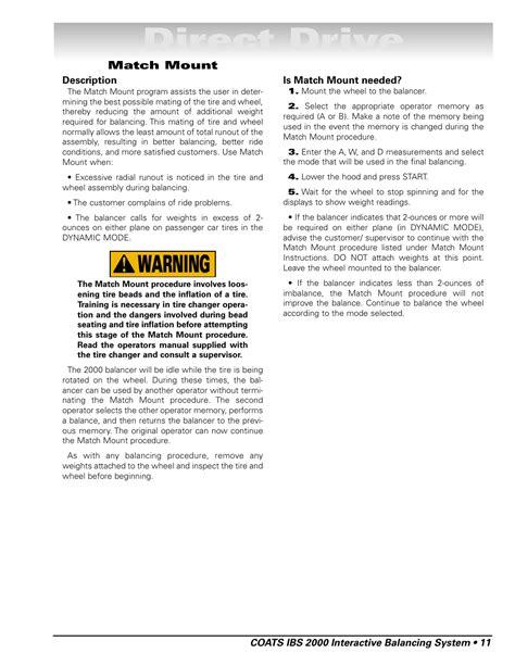 Coats Ibs 2015 Manual