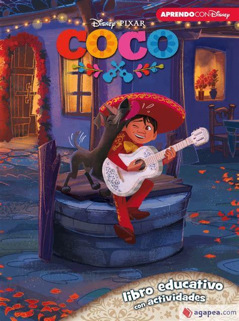Coco Libro Educativo Disney Con Actividades