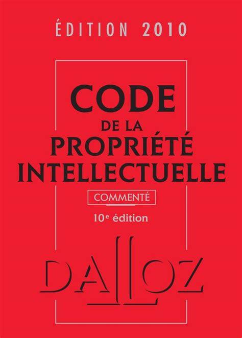 Code De La Propriete Intellectuelle
