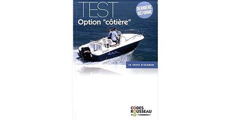 Code Rousseau Test Option Cotiere 2019