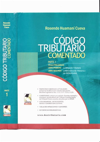 Codigos La Ley Codigo Tributario 2016