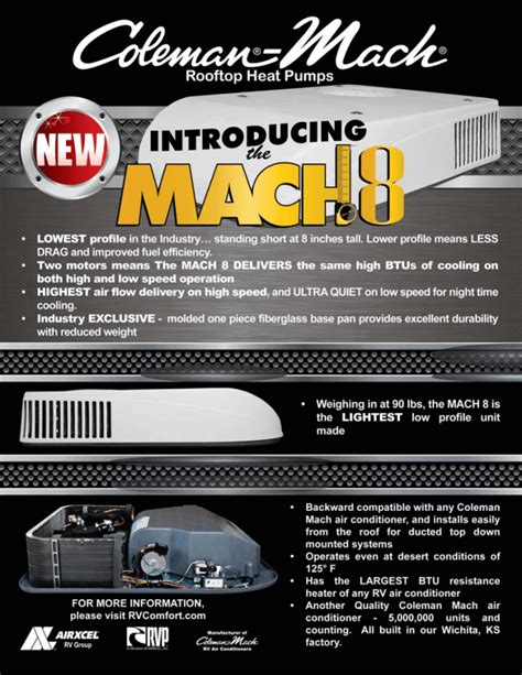 Coleman Mach Air Conditioners Manual