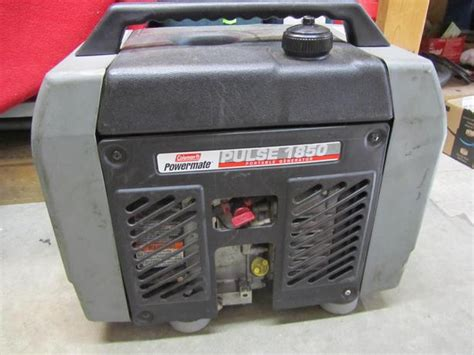 Coleman Powermate Pulse 1000 Portable Generator Manual