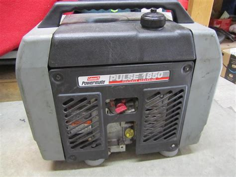 Coleman Powermate Pulse 1850 Generator Manual