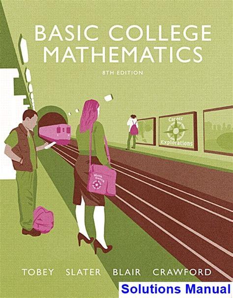 College Mathematics Solutions Manual