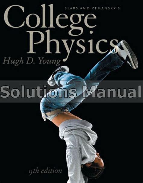 College Physics Solution Manual Jordano