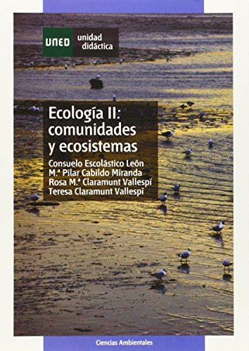 Cologia Comunidades Ecosistemas 2 Unidad Didactica
