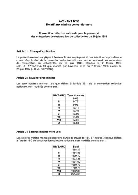 Commerce Alimentaire Convention Collective Brochure N3305 Derniere Edition