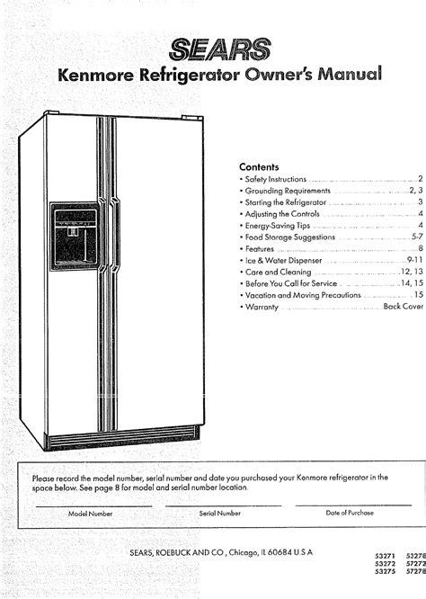 Commercial Refrigeration User Manuals