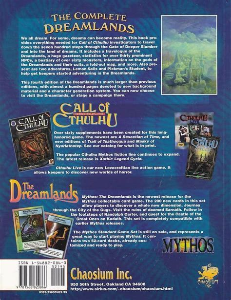 Complete Dreamlands Call Of Cthulhu