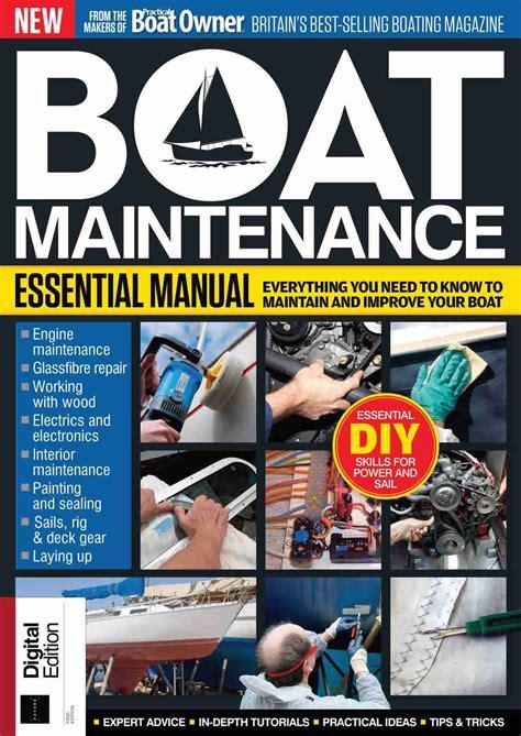 Complete Mechanical Electrical Boat Repair Manual