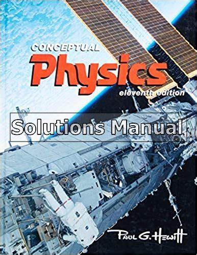 Conceptual Physics 11th Edition Instructors Manual