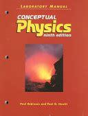 Conceptual Physics Laboratory Manual By Paul Hewitt