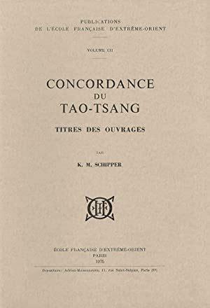 Concordance du Tao-tsang : Titres des ouvrages (Publications de l'École française d'Extrême-Orient)