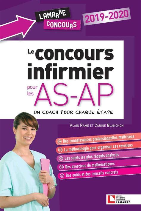 Concours Infirmier Pour As Ap 2019 2020 Tout En Un