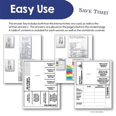 Constitution Notebook Guide