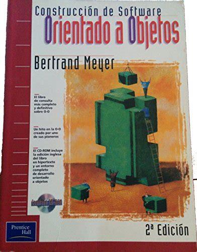Construccion Software Or Objetos 2 E Fuera De Coleccion Out Of Series