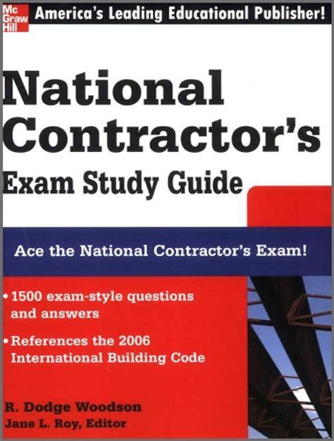 Construction Exam Study Guide