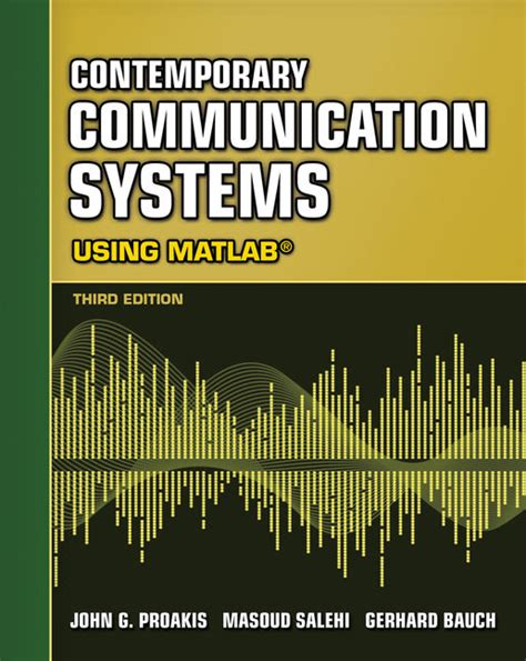 Contemporary Communication Systems Using Matlab Solution Manual