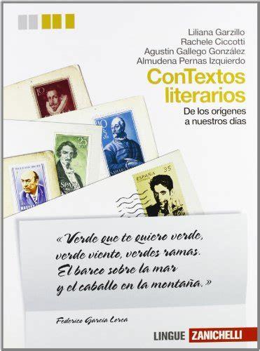 Contextos Literarios Volume Unico Per Le Scuole Superiori Con Aggiornamento Online