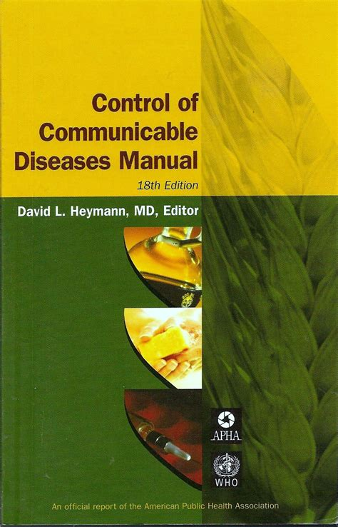 Control Of Communicable Diseases Manual 18th Edition