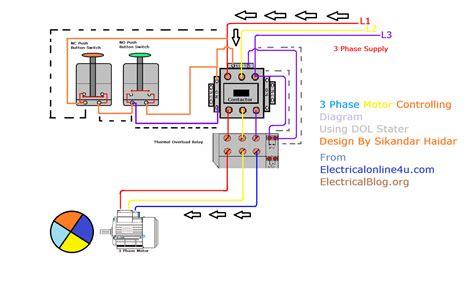 Control Transformer 3 Phase Motor Wiring Diagram