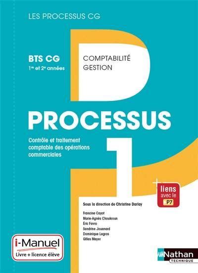 Controle Et Traitement Comptable Des Operations Commerciales Corrige Processus 1 Du Bts Cg Cas Pratiques