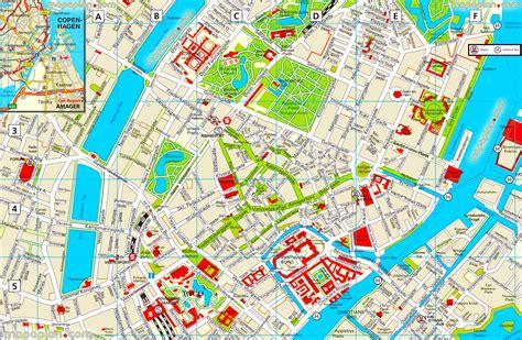 Copenhagen City Map (Travel Guide)