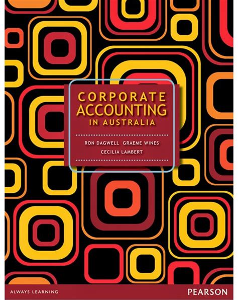 Corporate Accounting In Australia Solutions Manual Dagwell