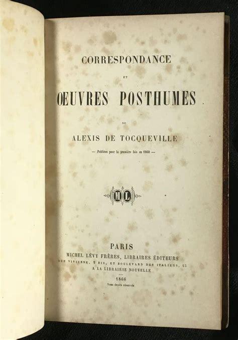 Correspondance Et Oeuvres Posthumes Classic Reprint