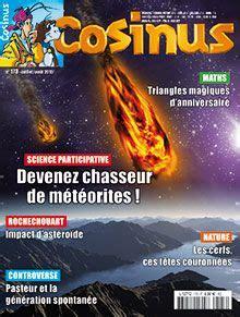 Cosinus N 173 Chassez Les Meteorites Juillet Aout 2015
