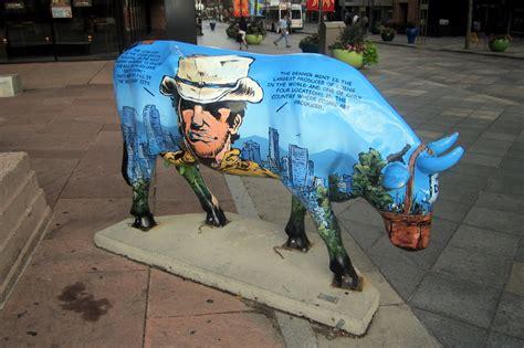 Cowparade Denver